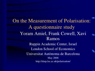 Distributional Analysis Research Programme