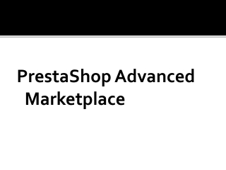 Presta shop advanced marketplace