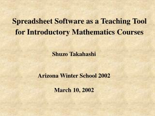 math.arizona