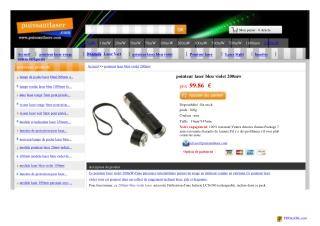 acheter laser vert chez www.puissantlaser.com
