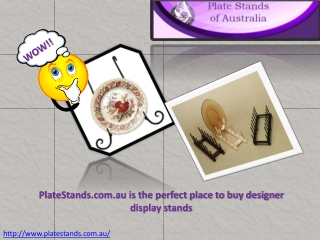 Plate Stand that Help to Flaunt Different Plates in Horde