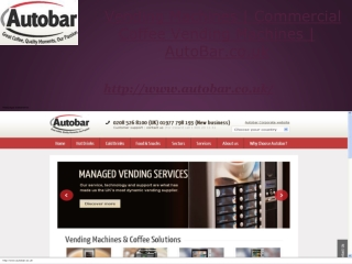 AutoBar.co.uk- Commercial Coffee Vending Machines
