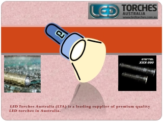 Led Torches Australia Vs Incandescent Torches