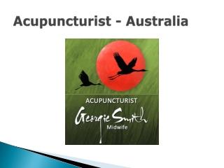Georgie Smith - Acupuncturist Brisbane