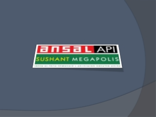 Ansal Megapolis Floors Greater Noida