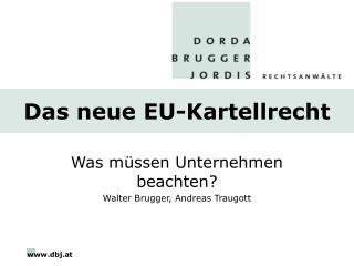 Das neue EU-Kartellrecht