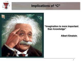 "Implications of ""C"""