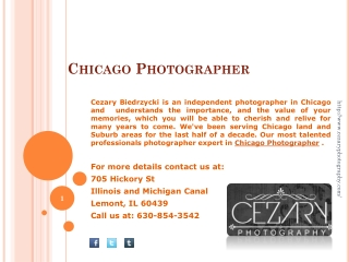 Cezary Biedrzycki - An Independent Photographer in Chicago