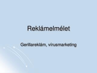 Rekl melm let