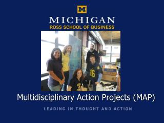 Multidisciplinary Action Projects (MAP)