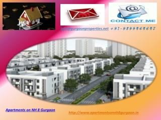 Apartments on NH 8 Gurgaon   Flats in Gurgaon