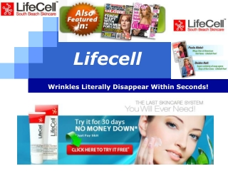 Lifecell Anti-Wrinkle Cream Topping the Charts