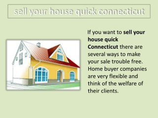 sell house fast connecticut