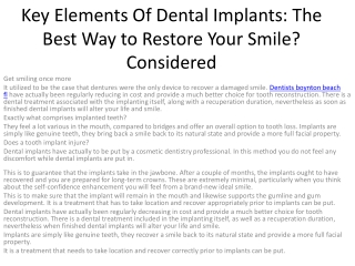 dental implants boynton beach