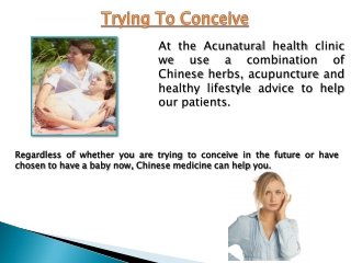 Trying To Conceive