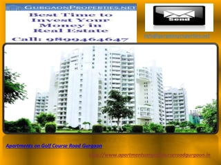 Apartments on Golf Course Road Gurgaon