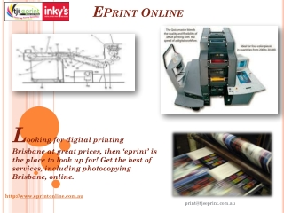 Digital Printing Brisbane A Few Facts One Must Consider