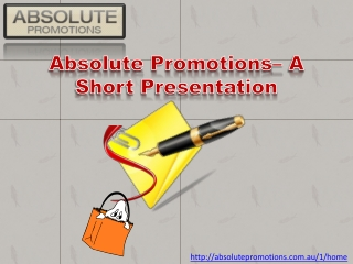 Promotional products promoting new deals
