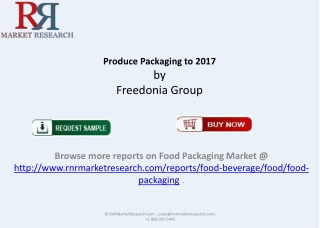 New report US Produce Packaging Industry 2017