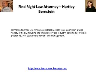 Hartley Bernstein - Partner at New York Law Firm