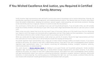 family attorney miami