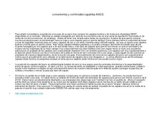2013 Zapatillas Asics