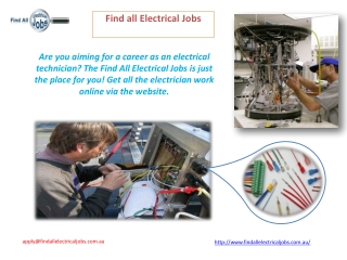 Electrical Technicians