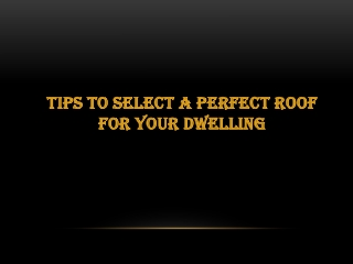 Searching Prefect Roofing in Salt Lake City?