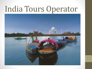 Tourist destination India