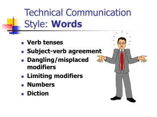 Technical Communication Style: Words