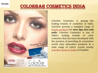 Buy Colorbar Women Make-Up Kit at Findable