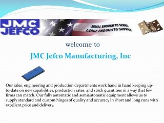 JMC Jefco Manufacturing, Inc
