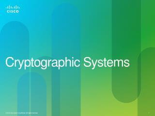 Cryptographic Systems