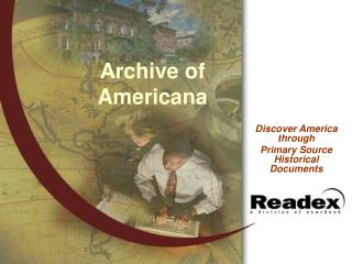 Archive of Americana