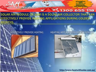 Benefits of Solar Heating