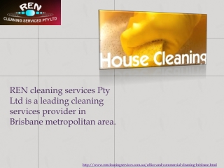 What are The Varied Office Cleaning Services