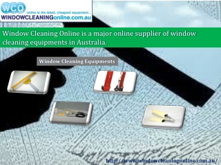 Inspect And Employ The Correct  Window Cleaning Products