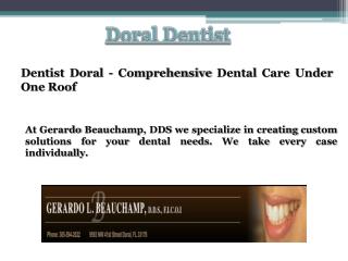 Cosmetic Dentist Doral