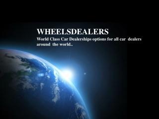 Used car dealers in Japan