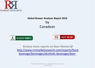 RNRMR Global Brewer Analyser Report 2013