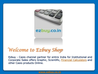 Casio Scientific Calculator and Financial Calculators Ezbuy