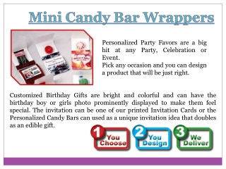 Miniature Candy Wrappers