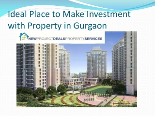 Versatile Property Options Offered by New project deals