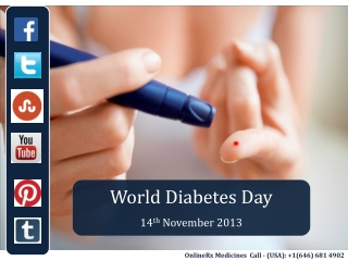 World Diabetes Day - Join The Cause