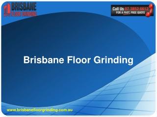Brisbane Floor Grinding