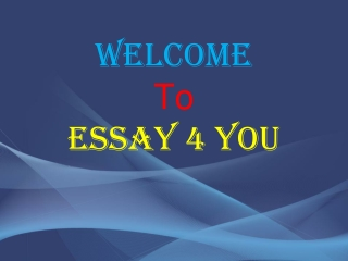 Best Quality Custom Essay Writing Services