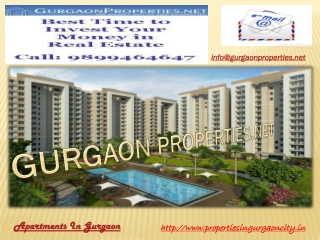 Apartments In Gurgaon | Property In Gurgaon