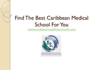 Caribbean Medical Schools