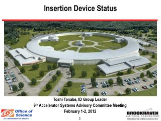 Insertion Device Status