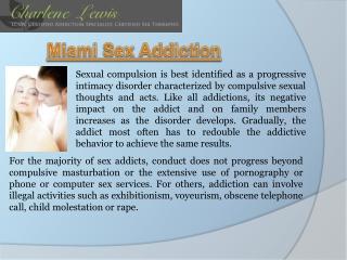 Miami sex Therapy